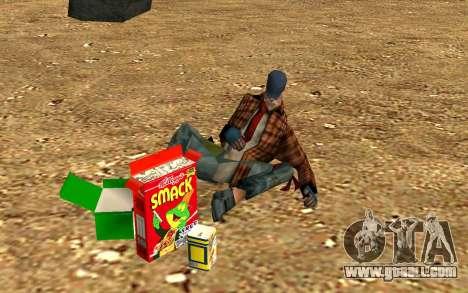 Party homeless for GTA San Andreas sixth screenshot