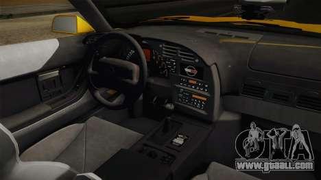 Chevrolet Corvette C4 Cabrio 1996 for GTA San Andreas side view