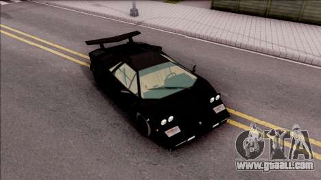Lamborghini Countach 1988 for GTA San Andreas right view