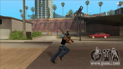 New Animations v4 Rapper Style Update for GTA San Andreas second screenshot