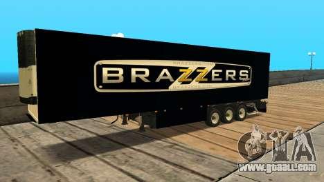 Trailer Brazzers for GTA San Andreas