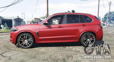 GTA 5 BMW X5 M (F85) 2016 [add-on] left side view