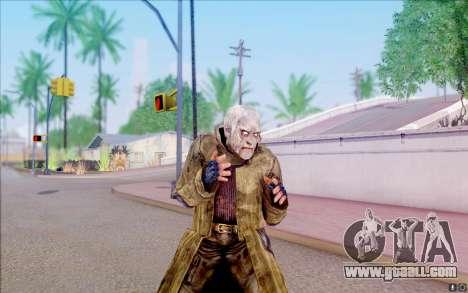 Geek in the cloak of S. T. A. L. K. E. R for GTA San Andreas fifth screenshot