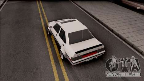 Proton Saga 1985 Widebody ver. for GTA San Andreas back view