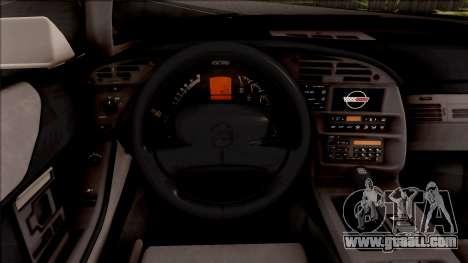 Chevrolet Corvette C4 Police LVPD 1996 for GTA San Andreas inner view