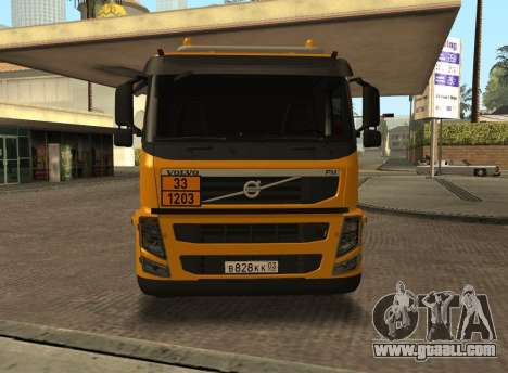 Volvo FM13 for GTA San Andreas back left view
