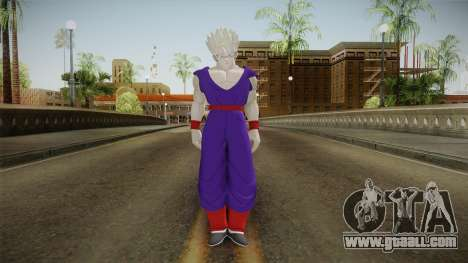 Gohan Skin HD 1 for GTA San Andreas second screenshot