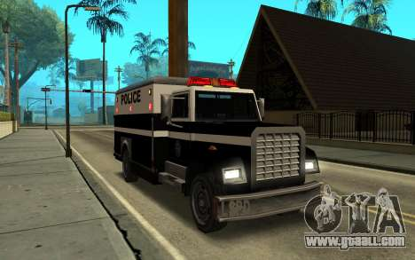 Enforcer под ELM for GTA San Andreas back left view