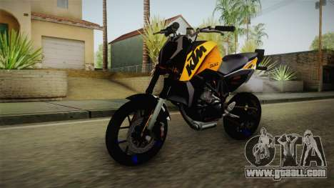 KTM Duke 690 for GTA San Andreas