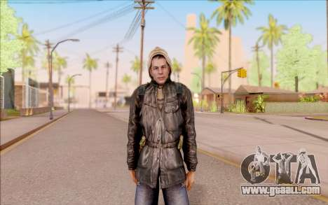 Degtyarev bandit jacket from S. T. A. L. K. E. R for GTA San Andreas
