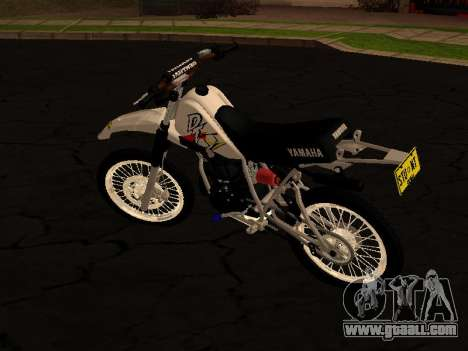 Yamaha DT 175 Stunt for GTA San Andreas back left view