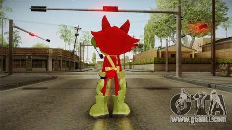 Sonic Forces: Custom Hero for GTA San Andreas third screenshot