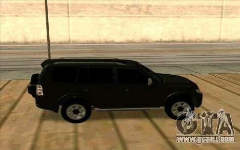 Mitsubishi Pajero Azeri for GTA San Andreas inner view