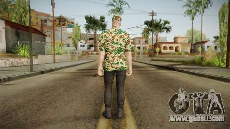 DLC GTA 5 Online Skin 3 for GTA San Andreas third screenshot