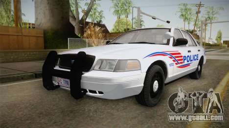 Ford Crown Victoria Police v2 for GTA San Andreas