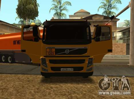 Volvo FM13 for GTA San Andreas back view
