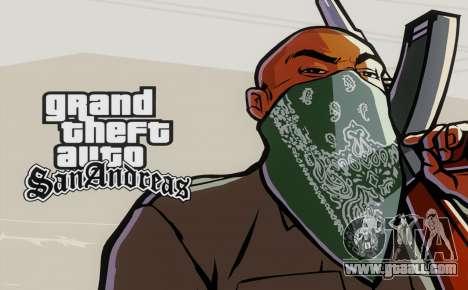 Loadscreens Remastered (HD) for GTA San Andreas third screenshot