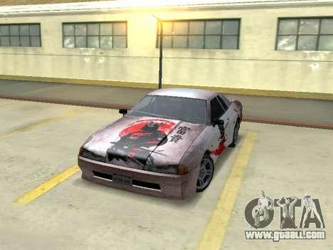 New Elegy Paintjob Samurai for GTA San Andreas