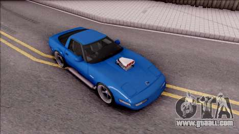 Chevrolet Corvette C4 1996 for GTA San Andreas right view