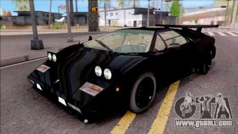 Lamborghini Countach 1988 for GTA San Andreas