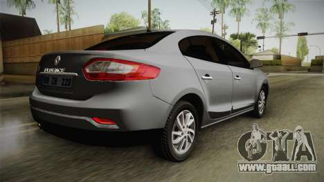 Renault Fluence Icon for GTA San Andreas left view