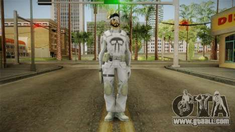 Punisher Dead Winter Skin for GTA San Andreas second screenshot