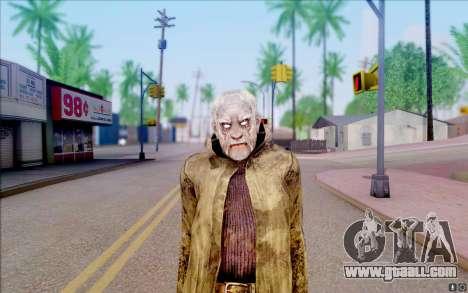 Geek in the cloak of S. T. A. L. K. E. R for GTA San Andreas forth screenshot