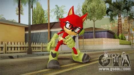 Sonic Forces: Custom Hero for GTA San Andreas