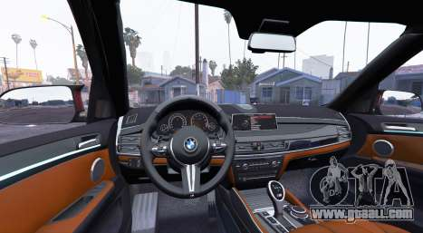 GTA 5 BMW X5 M (F85) 2016 [add-on] rear right side view