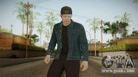 GTA Online - Raul Skin for GTA San Andreas