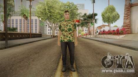 DLC GTA 5 Online Skin 3 for GTA San Andreas second screenshot