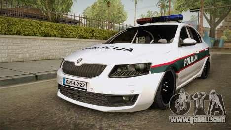 Skoda Octavia Police for GTA San Andreas