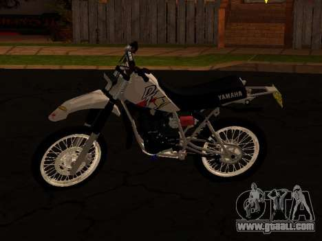 Yamaha DT 175 Stunt for GTA San Andreas right view