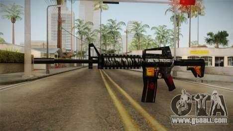 SFPH Playpark - Immortal M4A1 for GTA San Andreas