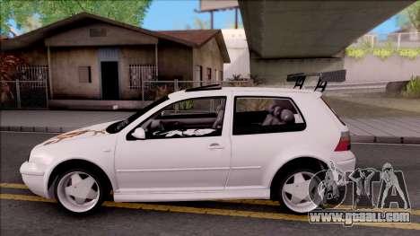 Volkswagen Golf 4 for GTA San Andreas left view
