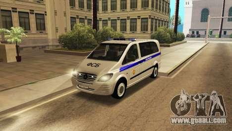 Mercedes-Benz Vito FSB for GTA San Andreas