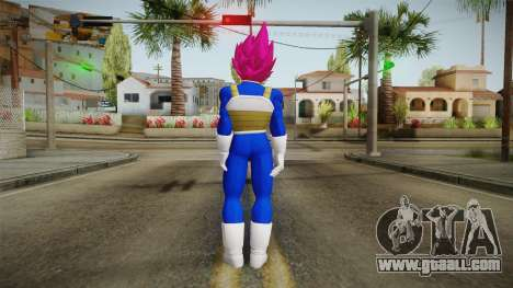Vegeta Skin HD v1 for GTA San Andreas third screenshot
