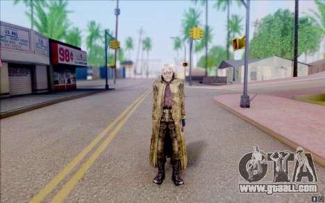 Geek in the cloak of S. T. A. L. K. E. R for GTA San Andreas