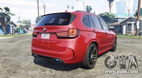 GTA 5 BMW X5 M (F85) 2016 [add-on] rear left side view