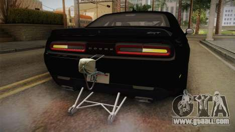 Dodge Challenger 2017 Drag for GTA San Andreas interior