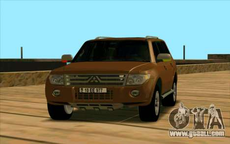 Mitsubishi Pajero Azeri for GTA San Andreas left view