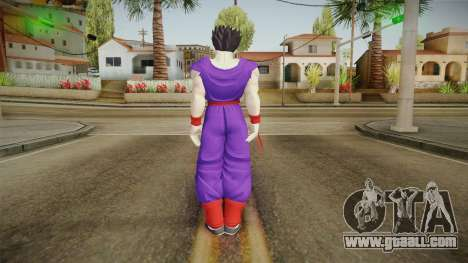 Gohan Skin HD 3 for GTA San Andreas third screenshot