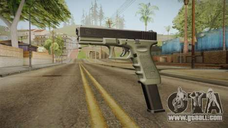 Glock 17 Extended Mag for GTA San Andreas second screenshot