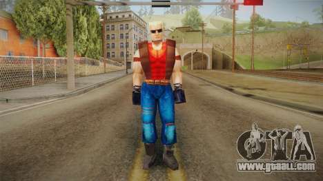 Duke Nukem - Time To Kill Skin for GTA San Andreas second screenshot