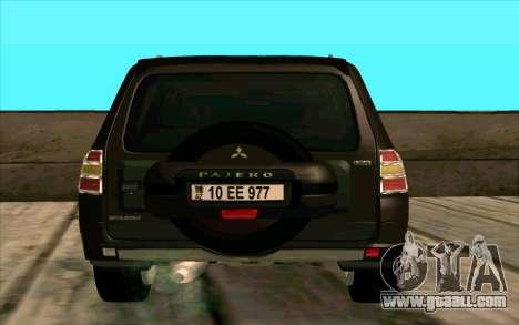 Mitsubishi Pajero Azeri for GTA San Andreas right view