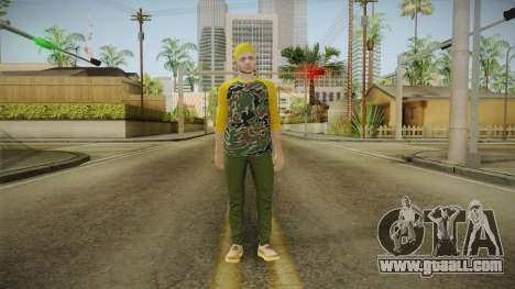 GTA Online - Hipster Skin 3 for GTA San Andreas second screenshot