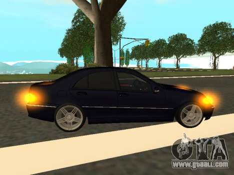 Mercedes-Benz C180 Armenian for GTA San Andreas right view