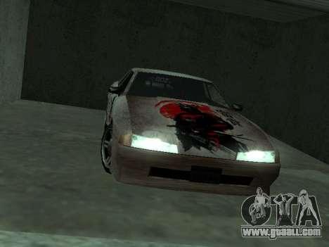 New Elegy Paintjob Samurai for GTA San Andreas right view