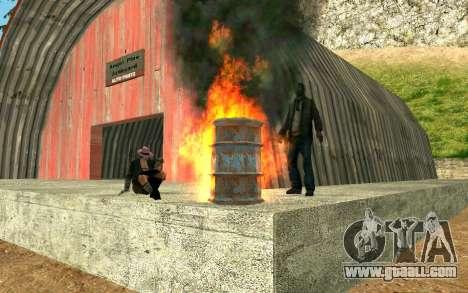 Party homeless for GTA San Andreas third screenshot