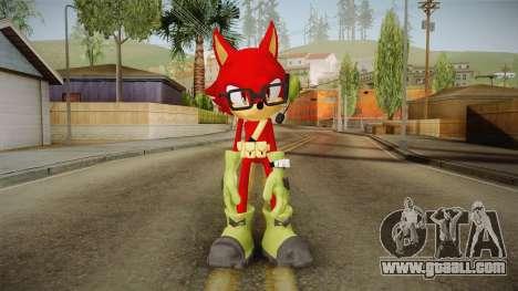 Sonic Forces: Custom Hero for GTA San Andreas second screenshot